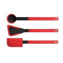 Pack de tres utensilios de silicona Woll