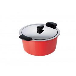 Olla térmica Hotpan de Kuhn Rikon color rojo
