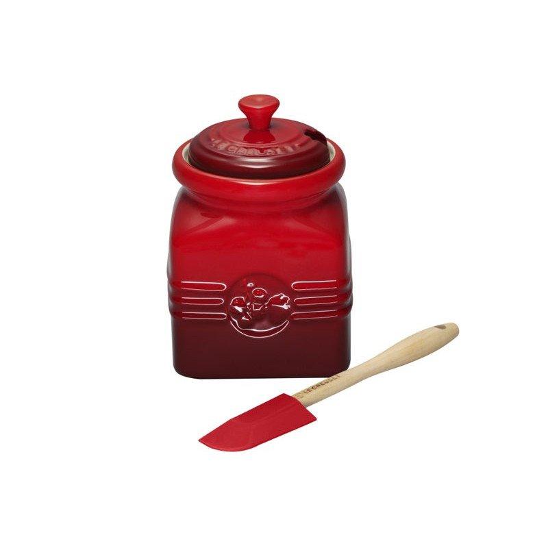 Bote para mermelada con espátula Le Creuset
