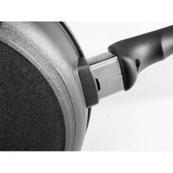 Sartén Titanio Inducción Honda Woll de 20, 24 y 28 cm de diámetro y 7 cm de alto