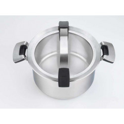 Cacerola Woll Concept PRO de acero inoxidable 18/10. Capacidad: 4 litros, 24 cm. de diámetro.