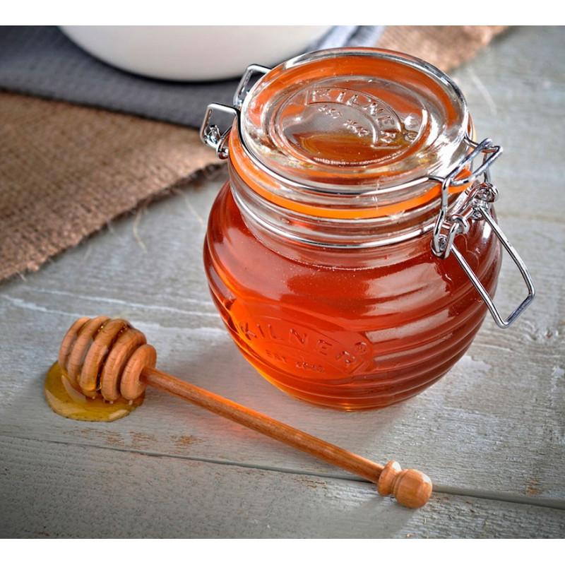 Bote para miel con cuchara Kilner