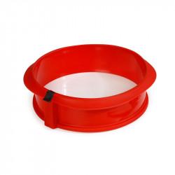 Forma desmontável redonda com prato de cerâmica Lékué