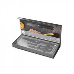Presentación caja regalo set 3 cuchillos JUNO
