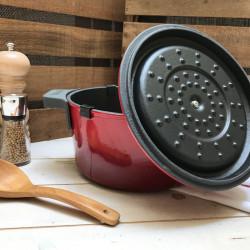 Tapa de hierro con tramado