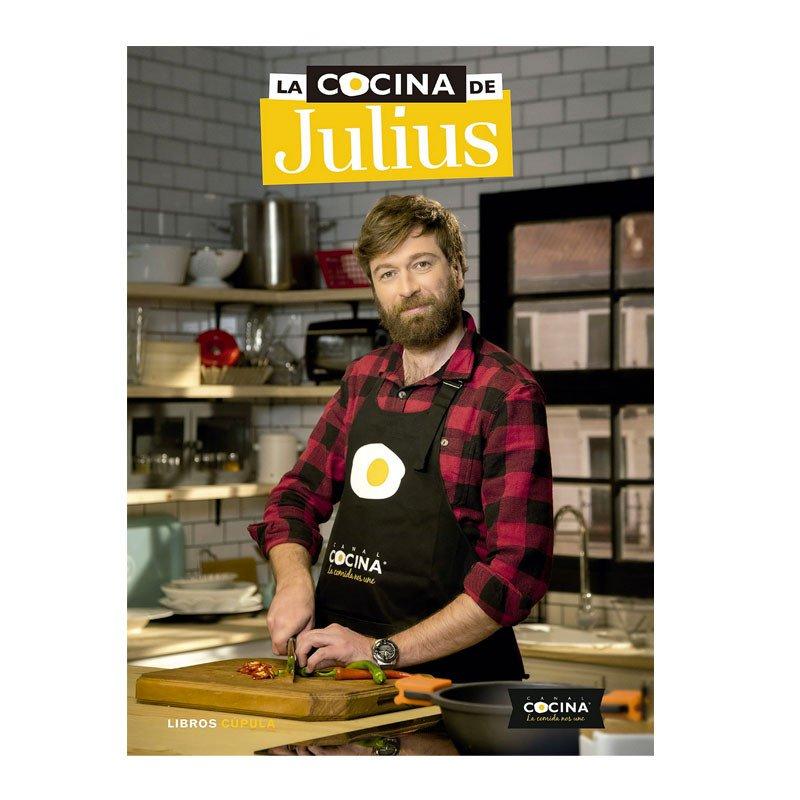 Portada del libro la cocina de Julius