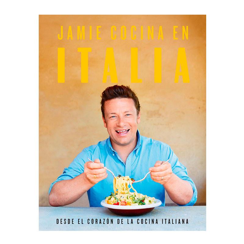 Portada del libro Jamie cocina en Italia de Canal Cocina