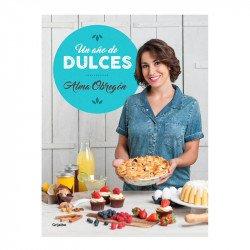 Portada del libro un año de dulces  de Alma Obregón