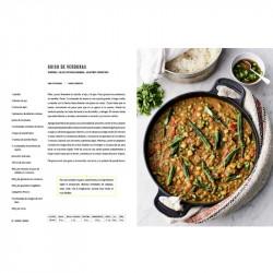 Imagen del libro de Jamie Oliver VEG receta de guiso de verduras