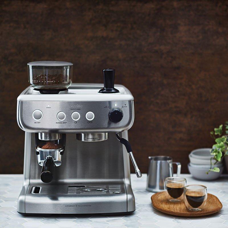 Máquina de Café Expresso Breville Barista Max
