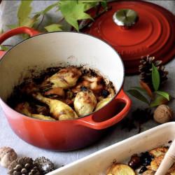 Cocinando en la cocotte Le Creuset