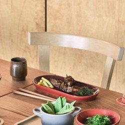 Bandeja Oval cor cereja zen kitchen