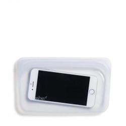 ¡hasta puedes proteger tu móvil! Bolsa Sasher pequeña.