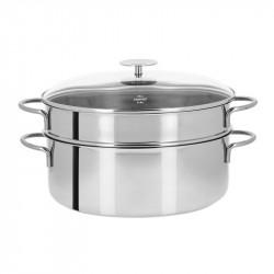 Sistema de cozinhar a vapor oval inox da Cristel