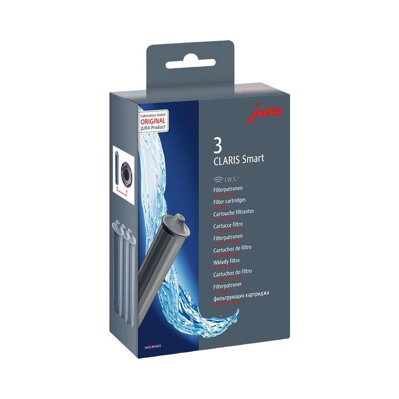 Pack 3 cartuchos de filtro CLARIS Smart Jura