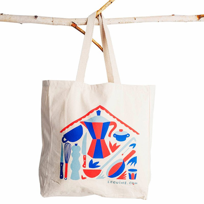 Bolsa de tela Tote Bag Lecuine