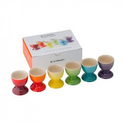 Hueveras Rainbow cerámica de gres Le Creuset