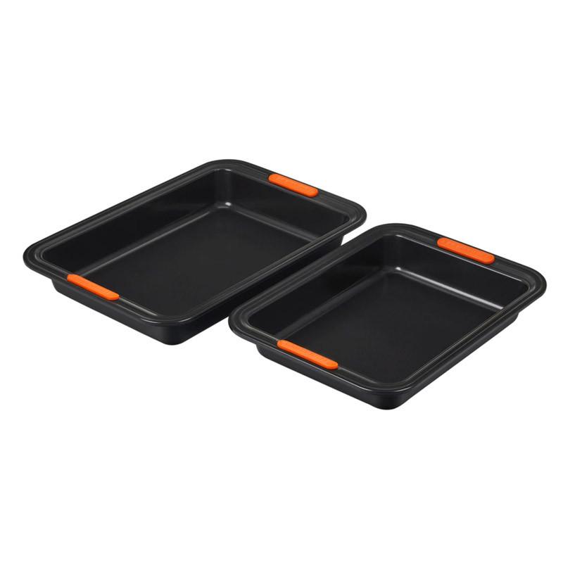 Set 2 moldes rectangulares Le Creuset