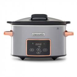 Olla digital de cocción lenta Crock Pot 3,5 L Gris