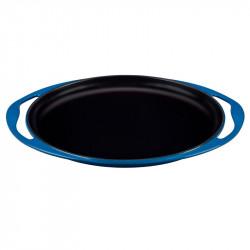 Grelhador liso oval em ferro fundido Le Creuset. Promoção!
