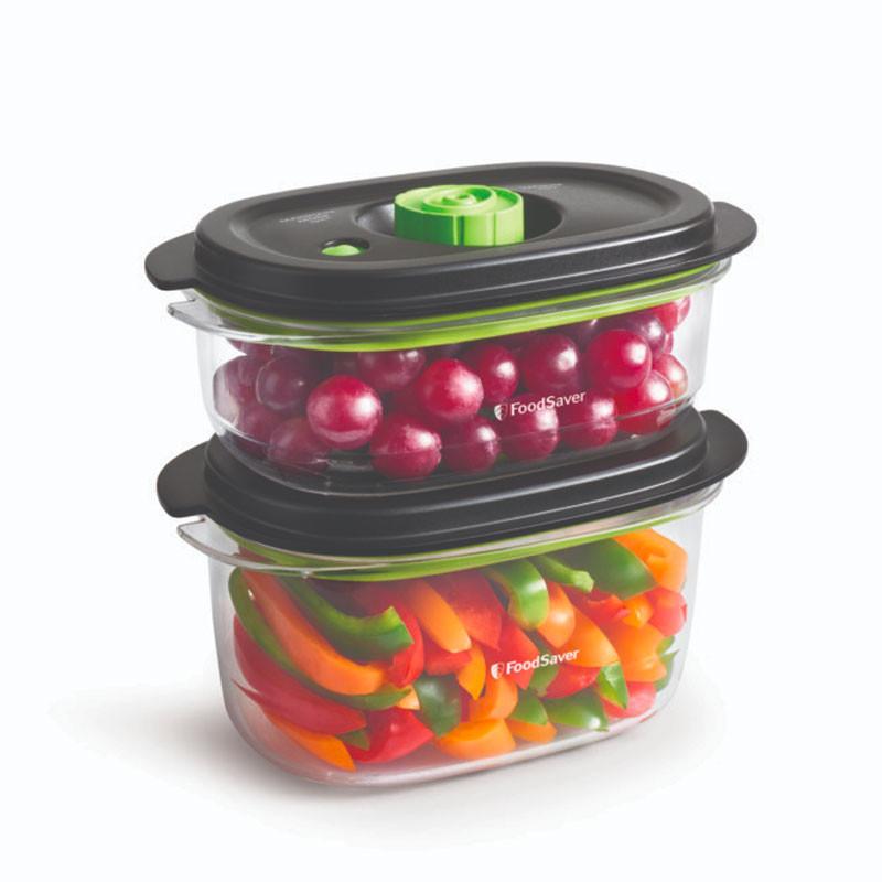 Pack 2 contenedores para envasadoras Foodsaver