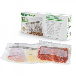 Caja de Bolsas zip Foodsaver grandes reutilizables FVB016X