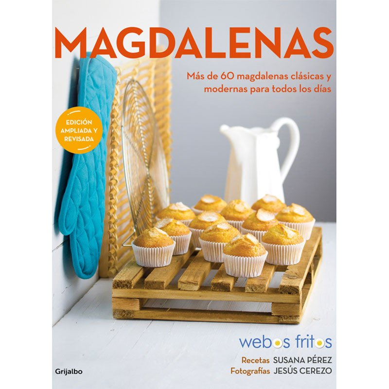 Nueva edición ampliada libro Magdalenas de Webos fritos