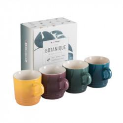 Set 4 tazas espresso Botanique Le Creuset