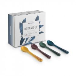 Conjunto 4 colheres Botanique Le Creuset